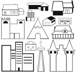 sketches - buildings
