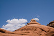 Stone pyramid. Arches National Park