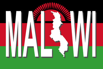 Malawi text with map