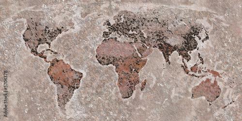 Fototapeta The World - Stone