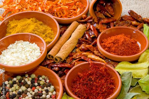Leinwanddruck Bild Spices III