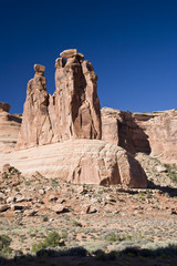 The Three Gossips - Arches National Park