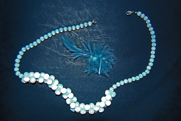 Moonstone and Feather