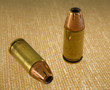 9 mm ammunition loaded with hollow point bullets