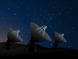 Radio dish telescopes  poster