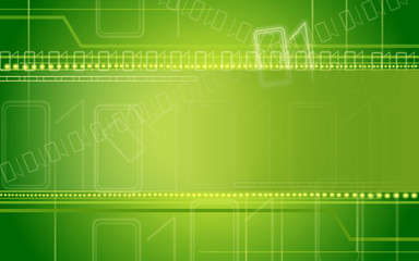 green abstract internet background