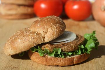 Vegetarian Soy Burger