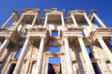 Celsus Library in the ancient Turkish city of Ephesus. poster