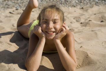 Girl on the beach V