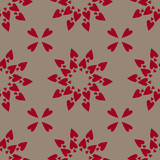 Hearts background (seamless repeat tile) poster