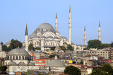 Istanbul, Turkey, Suleymaniye Mosque poster