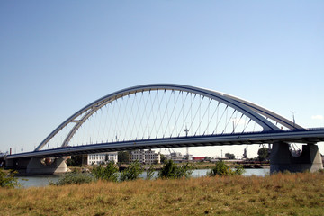 Apollo bridge in Bratislava,Slovakia,Slovak Republic