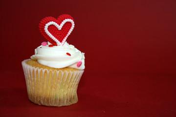 Velentines Day Cupcake