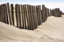 Erozja wybrzeża: Ochrona wydma ganivelles