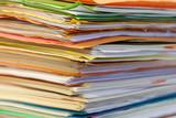 affaire dossier complexe justice papier poster