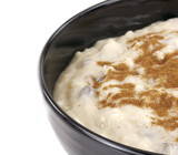 Bowl Of Rice Pudding poster