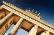 canvas print picture - Brandenburger Tor 01