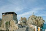 Vista del puerto de Castro Urdiales poster