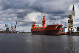 Ship in Shiprepair Yard of Gdansk