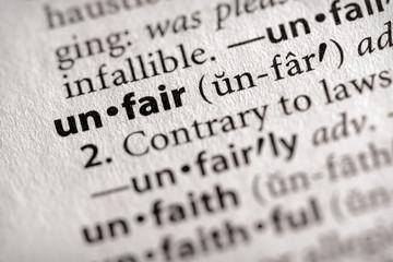 """unfair"". Many more word photos in my portfolio...."