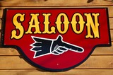 saloon sign poster