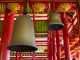 ancient chinese bell and chime poster