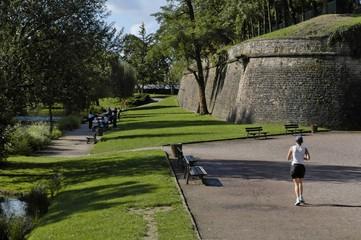 parc de la citadelle à strasbourg