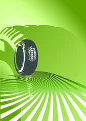 Vector background of auto design