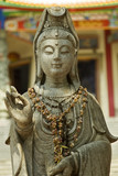 chinese goddess statue poster