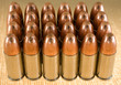 9 mm luger ammunition with full metal jackets