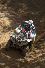 A teen on his quad
