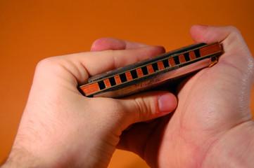 Suonare l'armonica