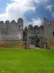 Restormel castle in Cornwall