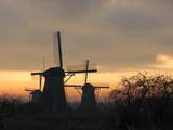 Pays-bas - Kinderdijk poster