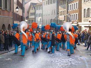 fanfare et carnaval