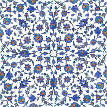 Ancient Turkish tiles