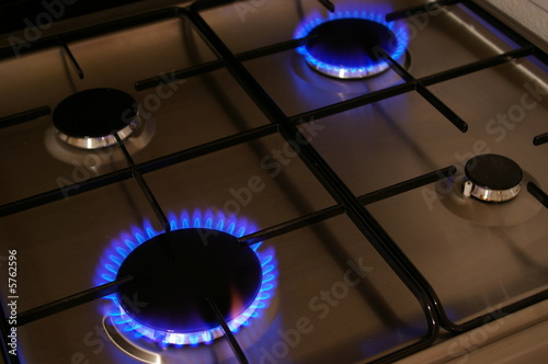 Plaque De Cuisson Au Gaz Naturel By Florian Villes Che Royalty Free Stock Photos 5762596 On