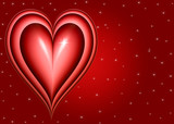 twinkling heart poster