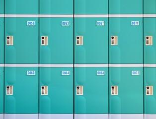 Rows of Lockers