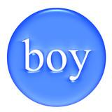 Boy Badge poster