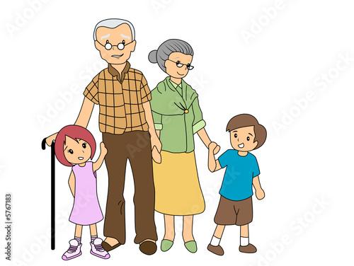 Children with Grandparents