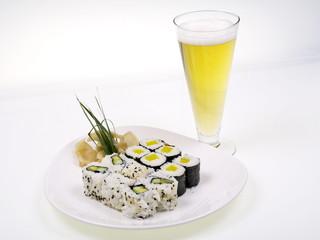 sushi und bier