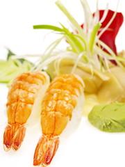 sushi und sashimi