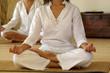 Due donne in meditazione