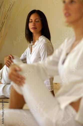 Leinwandbild Motiv Posizioni yoga
