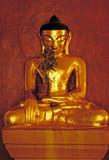 Bouddha en or de Pagan poster