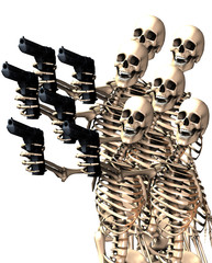Skeletons And Guns 6