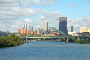 Birmingham Bridge over the Monongahela River, Pittsburgh