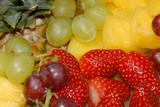 refreshing fruit salad poster