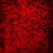 red fabric background
